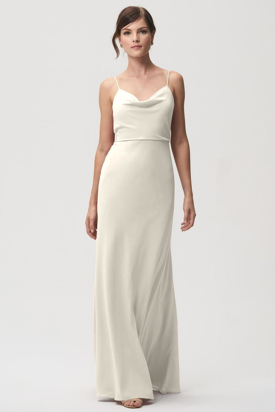 Jenny Yoo Bridesmaid Dress Capri_ivory