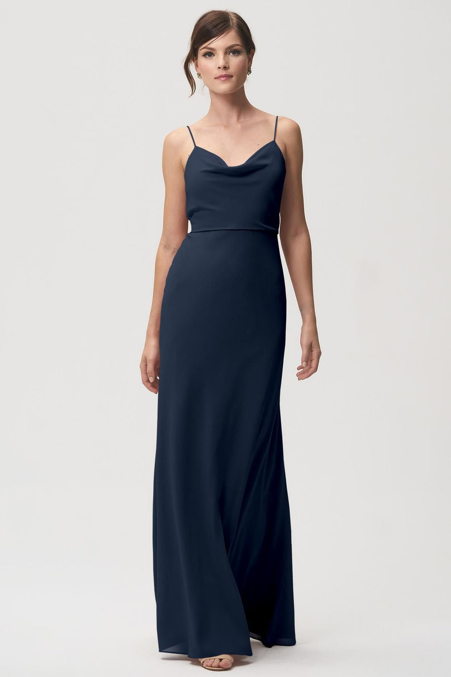 Jenny Yoo Bridesmaid Dress Capri_navy
