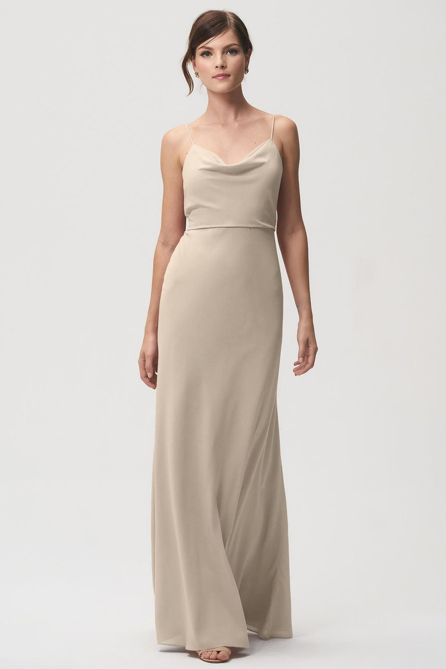 Jenny Yoo Bridesmaid Dress Capri_truffle