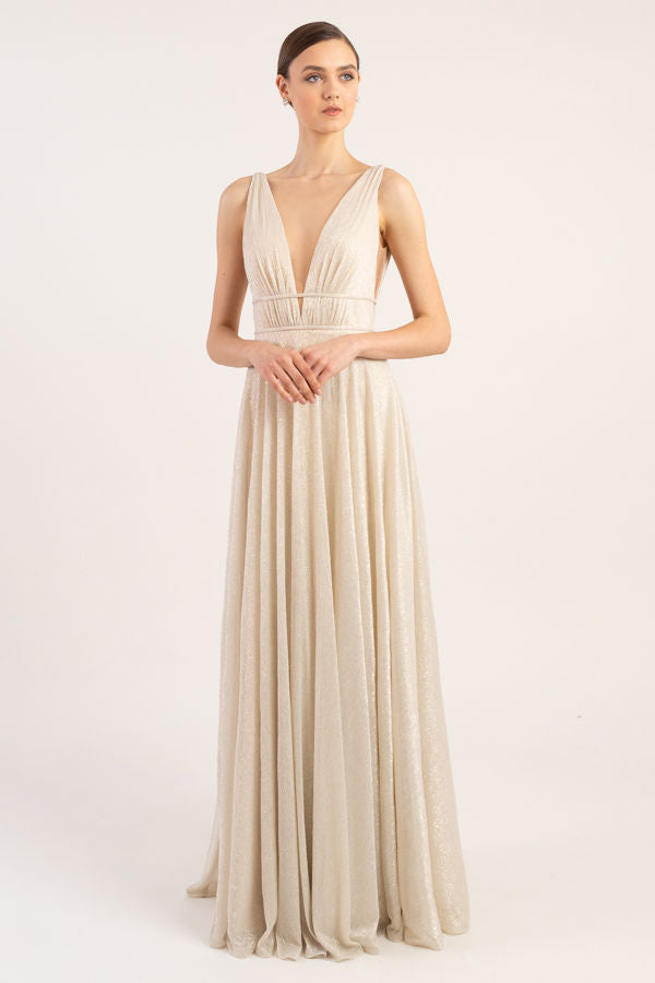 Jenny Yoo Long Bridesmaid Dress Carmen