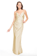 Bari Jay Bridesmaid Dress - 2005 Champagne