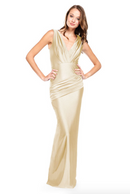 Bari Jay Bridesmaid Dress - 2006 Champagne