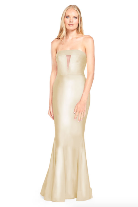 Bari Jay Bridesmaid Dress - 2008 Champagne