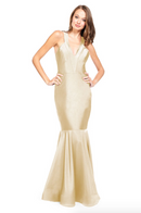 Bari Jay Bridesmaid Dress - 2009 Champagne