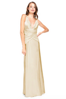 Bari Jay Bridesmaid Dress 2001 -Champagne