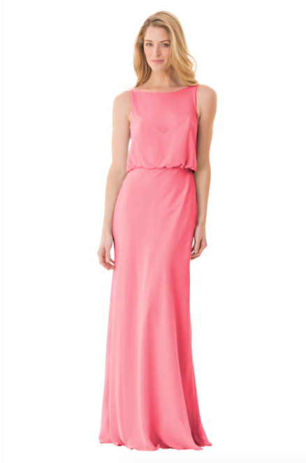 Bari Jay Bridesmaid Dress - 1661-Chanel