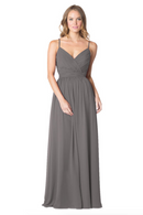 Bari Jay Bridesmaid Dress - 1606 IC-Charcoal