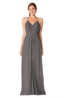 Bari Jay Bridesmaid Dress - 1723 IC-Charcoal