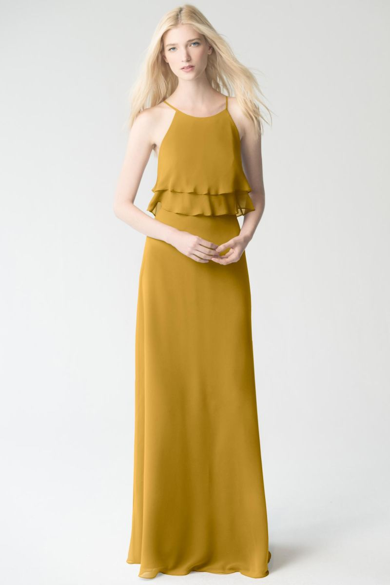 marigold Jenny Yoo Bridesmaid Dress Charlie