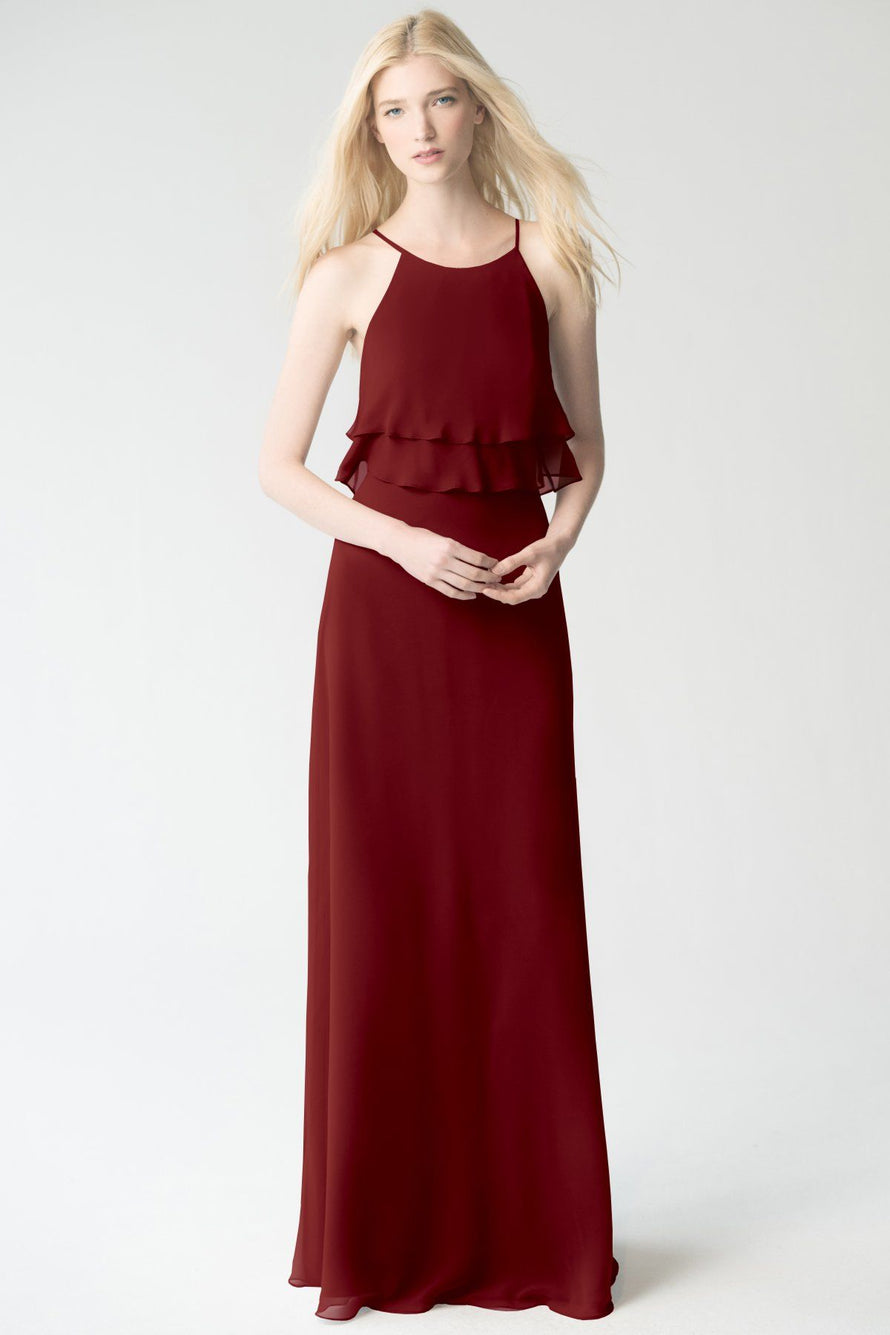 merlot Jenny Yoo Bridesmaid Dress Charlie