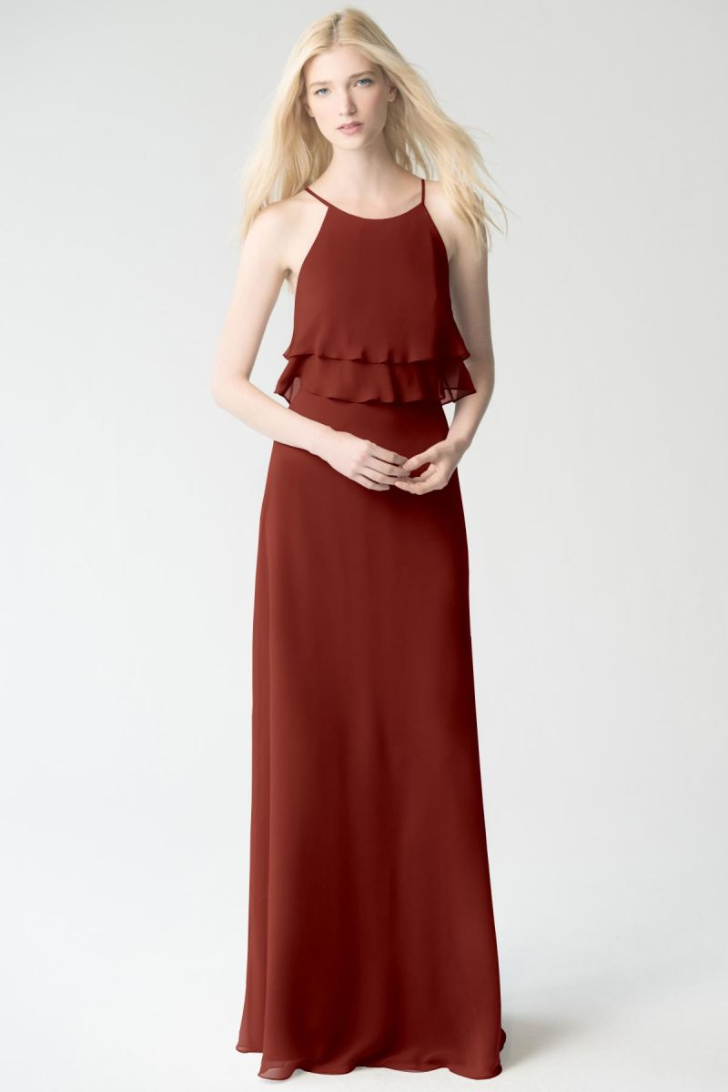 rust Jenny Yoo Bridesmaid Dress Charlie