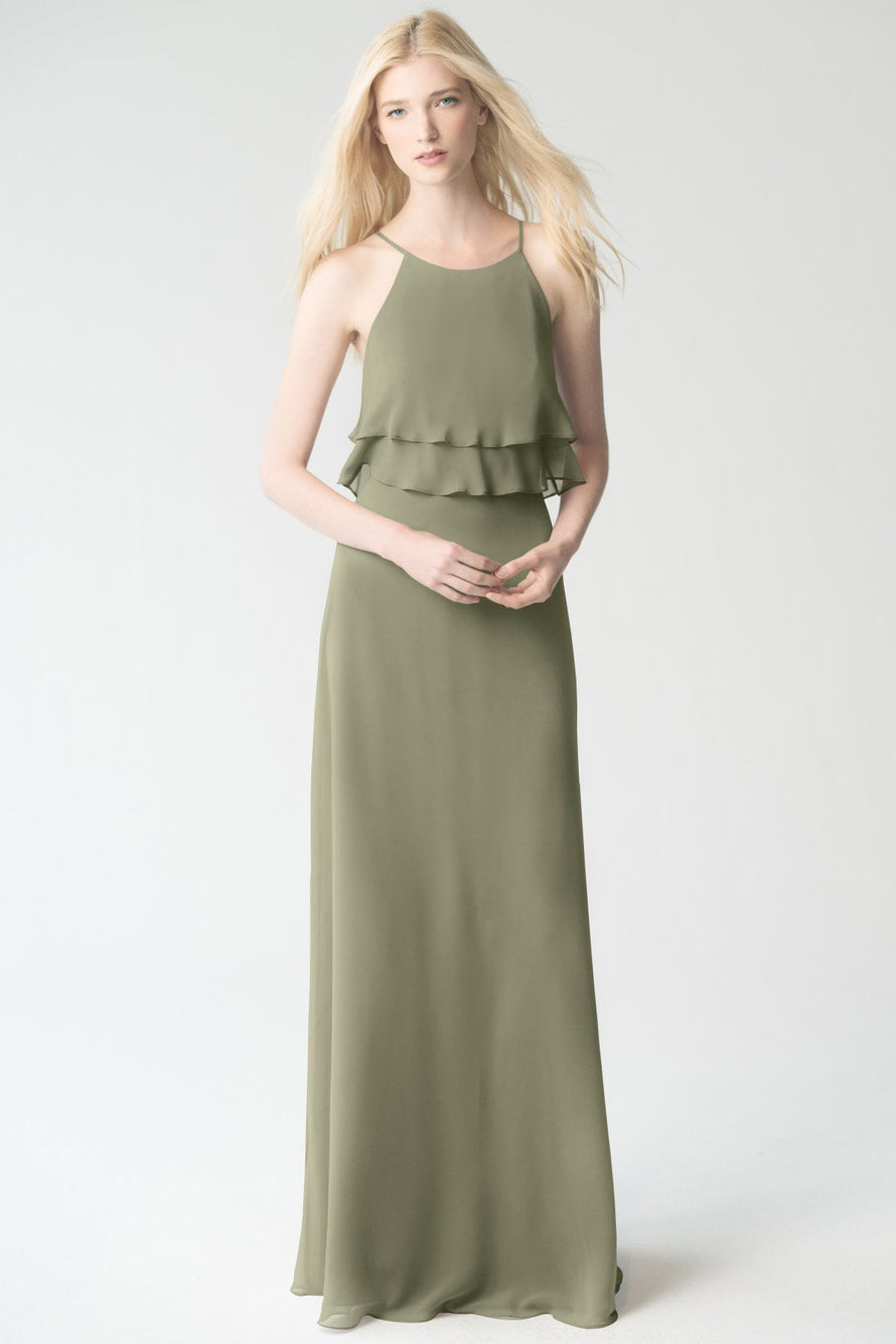 sage Jenny Yoo Bridesmaid Dress Charlie