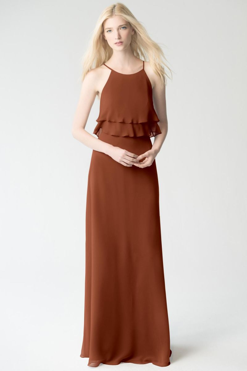 terracotta Jenny Yoo Bridesmaid Dress Charlie