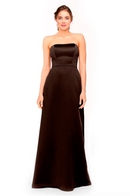 Bari Jay Bridesmaid Dress 1975 - Chocolate