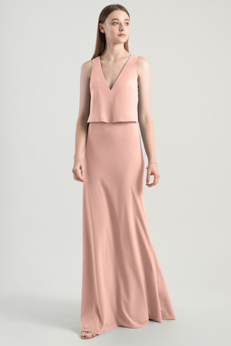 Jenny Yoo Bridesmaid Dress Clermont Clermont_rose_petal