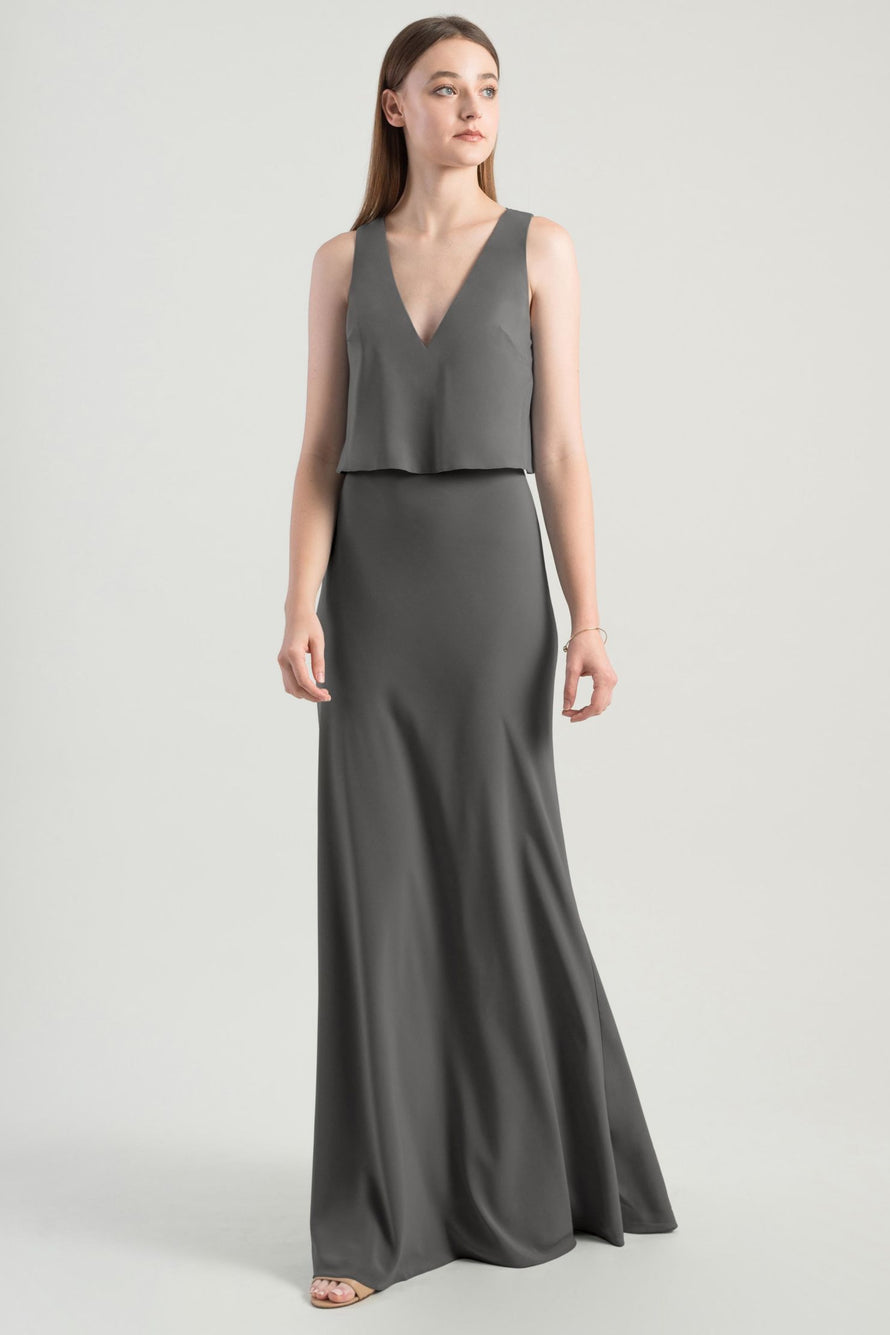 Jenny Yoo Bridesmaid Dress Clermont_thistle