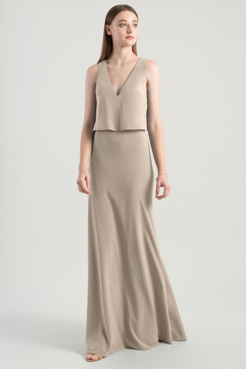 Jenny Yoo Bridesmaid Dress Clermont front