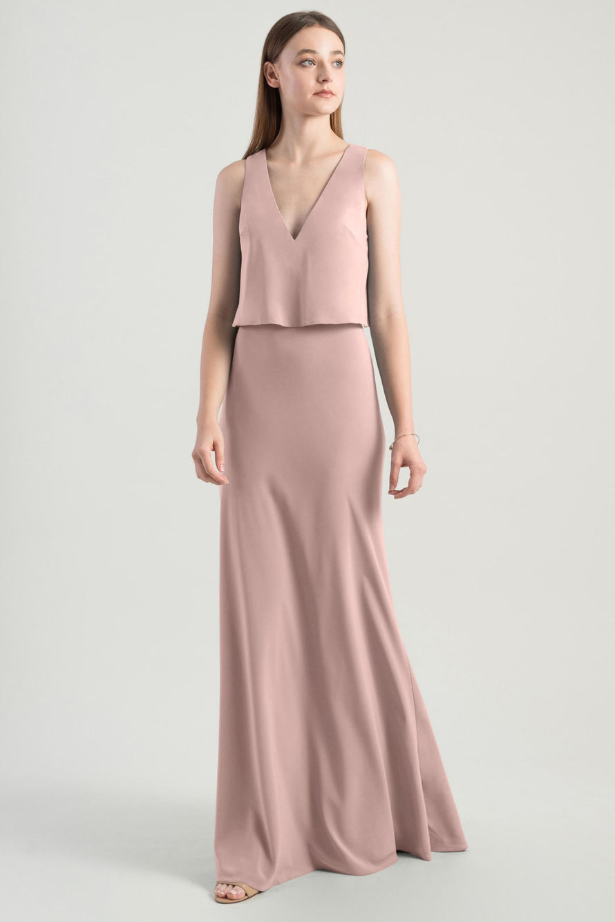 Jenny Yoo Bridesmaid Dress Clermont_whipped_apricot