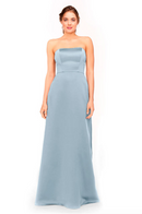 Bari Jay Bridesmaid Dress 1975 - Cloud