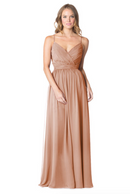 Bari Jay Bridesmaid Dress - 1606 BC-Cocoa