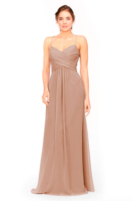 Bari Jay Bridesmaid Dress 1962 -Cocoa