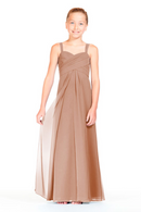 Bari Jay Junior Bridesmaid Dress 1803 (JR)-Cocoa