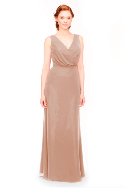 Bari Jay Bridesmaid Dress 1970 -Cocoa