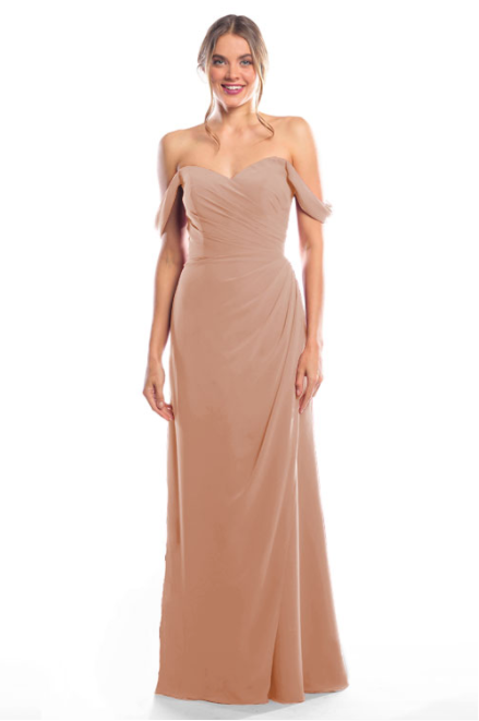 Bari Jay Bridesmaid Dress 2080 - Cocoa