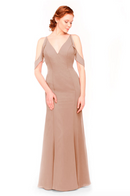 Bari Jay Bridesmaid Dress 1972 - Cocoa