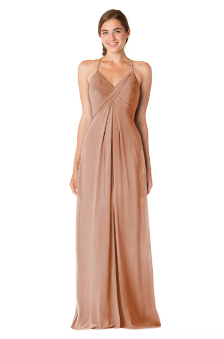 Bari Jay Bridesmaid Dress - 1723 BC-Cocoa