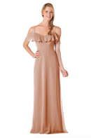 Bari Jay Bridesmaid Dress - 1730-Cocoa