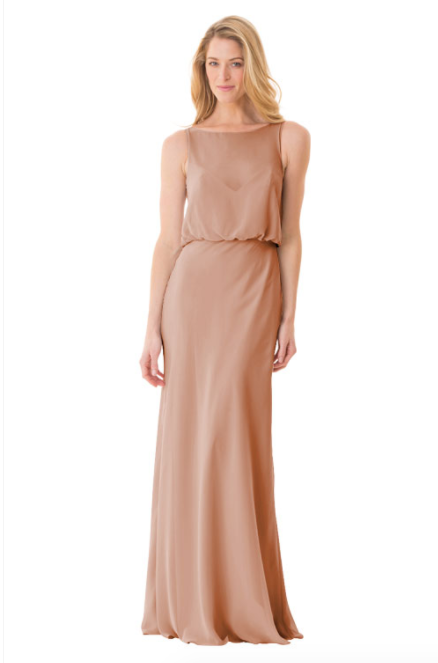 Bari Jay Bridesmaid Dress - 1661-Cocoa
