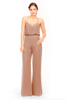 Bari Jay Jumpsuit Bridesmaid Dress 1964 - Cocoa