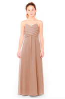 Bari Jay Junior Bridesmaid Dress 1962 - Cocoa