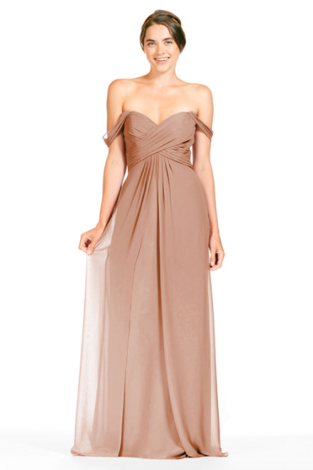 Bari Jay Bridesmaid Dress 1803 -Cocoa