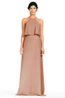 Bari Jay Bridesmaid Dress 1801-Cocoa