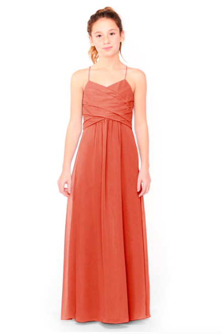 Bari Jay Junior Bridesmaid Dress 1962 - Coral