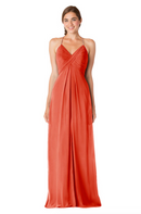 Bari Jay Bridesmaid Dress - 1723 BC-Coral