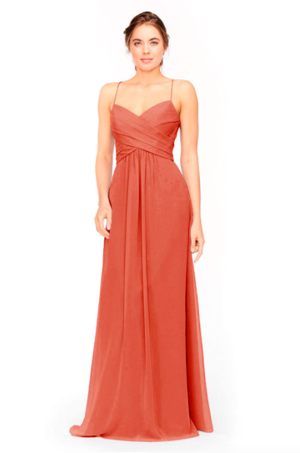 Bari Jay Bridesmaid Dress 1962 -Coral