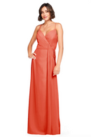 Bari Jay Bridesmaid Dress 2026 - Coral