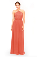 Bari Jay Bridesmaid Dress 1969 - Coral