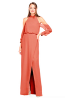 Bari Jay Bridesmaid Dress 2028 - Coral