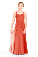 Bari Jay Junior Bridesmaid Dress 1803 (JR)-Coral