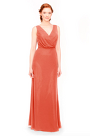 Bari Jay Bridesmaid Dress 1970 -Coral