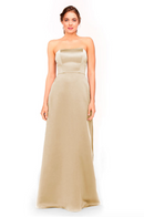 Bari Jay Bridesmaid Dress 1975 - Creme