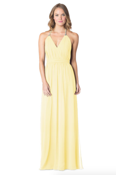 Daffodil-Bari Jay Bridesmaid Dress - 1600
