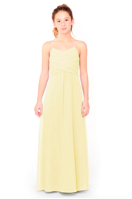 Bari Jay Junior Bridesmaid Dress 1962 - Daffodil