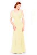 Bari Jay Bridesmaid Dress 1972 - Daffodil