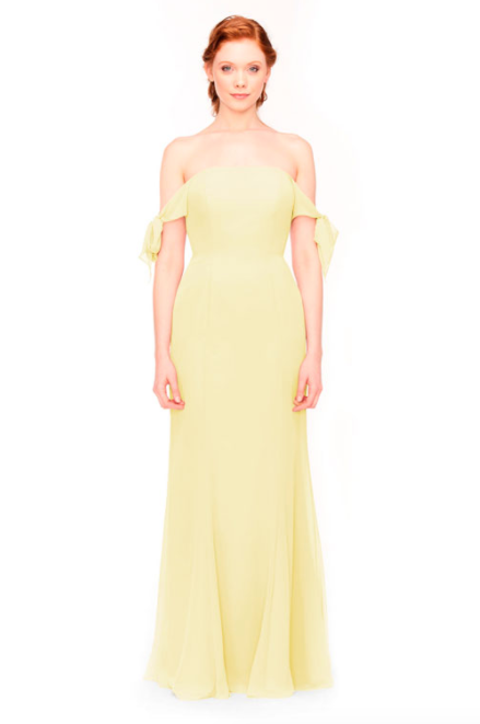 Bari Jay Bridesmaid Dress 1974 - Daffodil