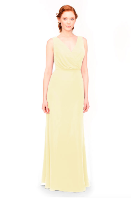 Bari Jay Bridesmaid Dress 1970 -Daffodil